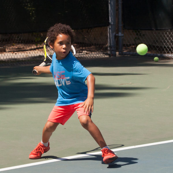 Mighty Munchkin Tennis Player on court
