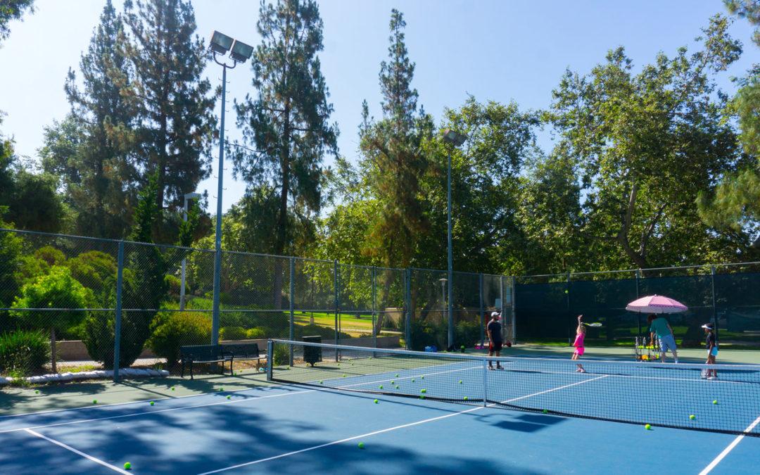 Loma Alta Park tennis court III